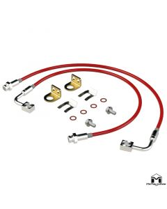 JT Gladiator Rear Replacement Brake Lines, 24.5""