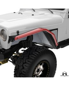 """4"""" Arched Front Flare, Pair, TJ/LJ/YJ"""