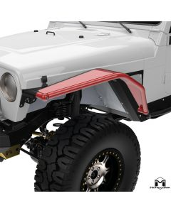 """8"""" Arched Front Flare, Pair, TJ/LJ/YJ"""
