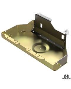 Gas Tank Skid Plate, TJ/LJ, Aluminum & Steel