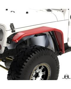 Overline Hi-Clearance Quick-Release Front Flare, Wide Edition, Pair, JK
