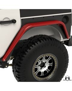 Overline Hi-Clearance Dovetailed & Removable Rear Flare, Narrow Edition, Pair, JK