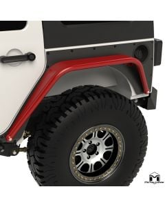 Overline Hi-Clearance Dovetailed & Removable Rear Flare, Standard Edition, Pair, JK