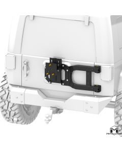 MetalCloak SportGate Tire Carrier, JK Wrangler