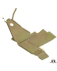 UnderCloak Integrated Armor System, JL Wrangler, 2-Door, 3.6L, Non e-Torque