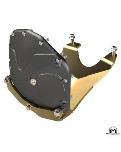 JL Wrangler | JT Gladiator Front Differential Cover & Skid System [ M210 | 3rd Gen D44 ] Rubicon Edition