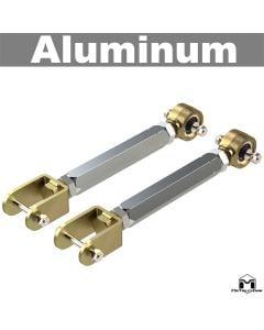 Aluminum Control Arms, Double Adjustable, TJ/LJ/XJ Upper Front