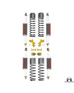 JK Wrangler 6Pak Long Travel Upgrade Kit, 3.5