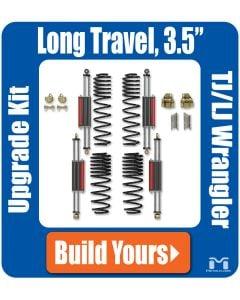 """TJ/LJ Wrangler 6Pak Upgrade Kit, 3.5"""""""