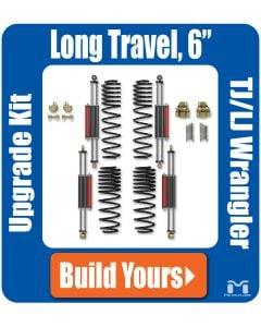 "TJ/LJ Wrangler 6Pak Upgrade for Long Arms, 6"""