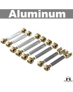Duroflex Control Arm, TJ/LJ Double Adjustable Aluminum Short Arms