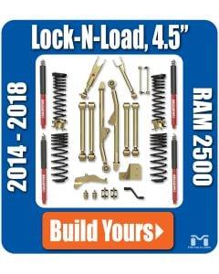 """4.5"""" Lock-N-Load Suspension, Ram 2500 Diesel ('14 -'18), No Shock Edition"""