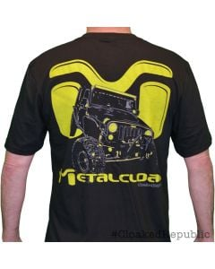 "MetalCloak ""Yellow Icon"" Men's Tee - Newly Updated!"