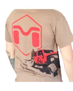 Red Icon - Wraparound Jeep Limited Edition Mens' Tee