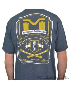 "#CloakedRepublic, ""MetalCloak Owners Club"" Super Soft Tri-Blend Tee"