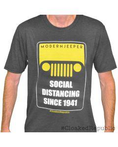 """ModernJeeper """"Social Distancing"""" Men's Tee"""