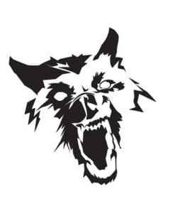 "Large Wolverine 27"" Decal"