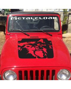 MetalCloak Windshield Decal