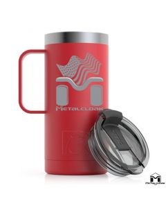 "MetalCloak ""Go USA"" RTIC Travel Mug, 16oz"
