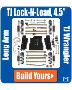 "TJ Wrangler 4.5"" Lock-N-Load Long Arm Suspension"