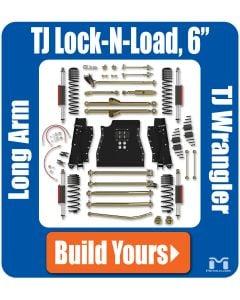 "TJ Wrangler 6"" Lock-N-Load Long Arm Suspension"