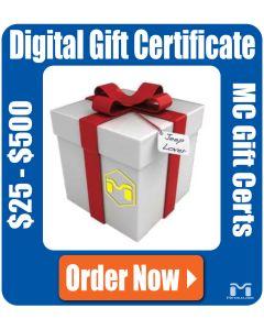 MetalCloak Gift Certificate