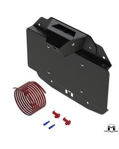 JL Wrangler Spare Tire Delete Kit w/ Camera Mount