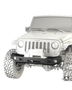 Frame-Built Bumper #1400, JK Wrangler
