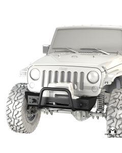 Frame-Built Bumper #1201, JK Wrangler