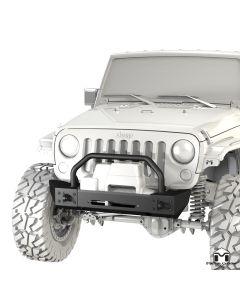 Frame-Built Bumper #1204, JK Wrangler