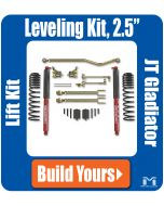 Jeep Truck Leveling Kit JT Gladiator Component List image Coils Control Arms Outboard Shock Mounts RockSport Shocks