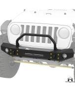 Frame-Built Bumper #2404, JL Wrangler, JT Gladiator